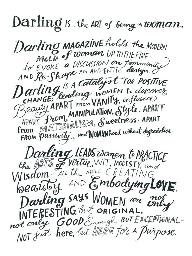 Artwork de Angela Duncan para Darling Magazine
