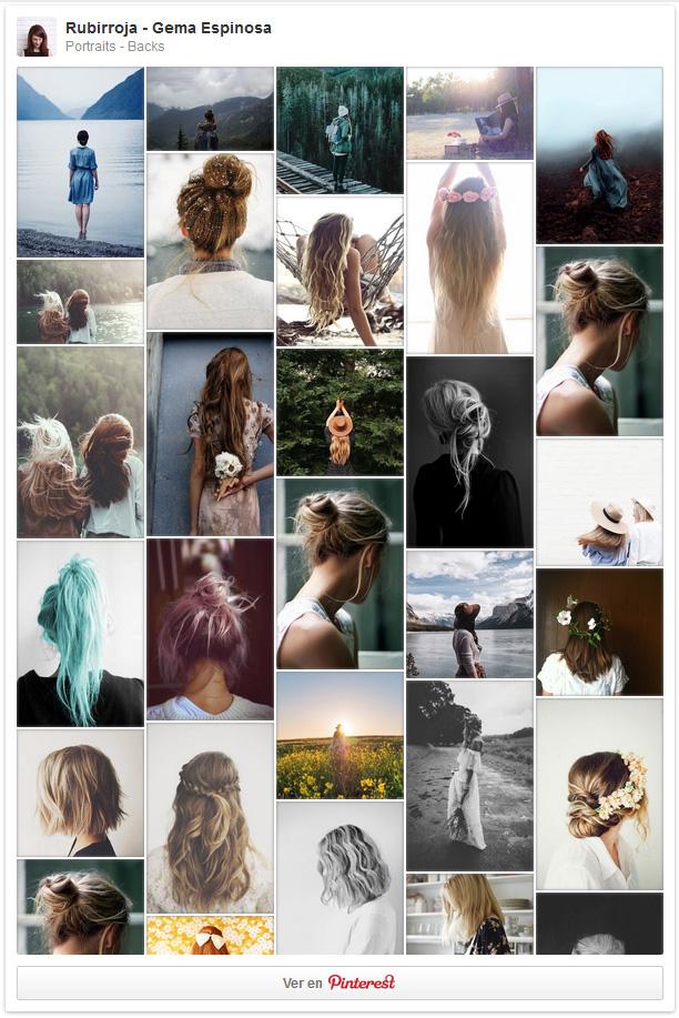 Ideas para hacer un autorretrato Gema Espinosa Rubirroja 6 Pinterest