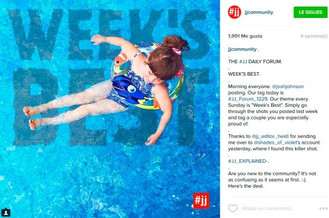 Qué significa el hashtag #jj y cómo usarlo -Gema Espinosa - Rubirroja 3