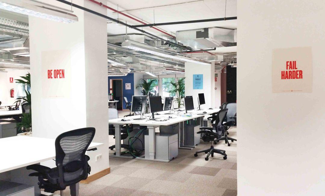 Conoce las nuevas oficinas de facebook e instagram en for Oficinas empadronamiento madrid