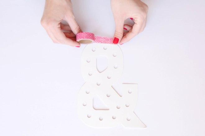 DIY Personaliza tu propia letra luminosa - Gema Espinosa Rubirroja 4