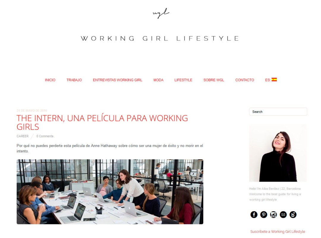 Hello! Blogging Pro Make Share Alba Benítez , Working Girl Lifestyle Gema Espinosa Rubirroja.jpg